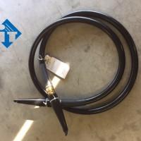 Hochspannungskabel 160kV (gebr.), 2 x R24, 3m