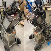 Mobile PHILIPS Gleichspannungs-Röntgenanlage MG160L, gebraucht (ohne Röntgenröhre)